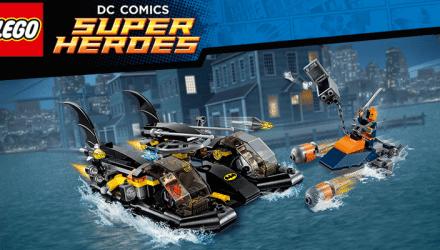 LEGO BatboatPursuit