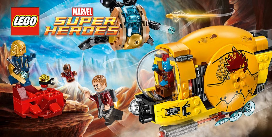 LEGO Marvel Super Heroes: Ayesha's Revenge #76080 [Review] - Life In ...