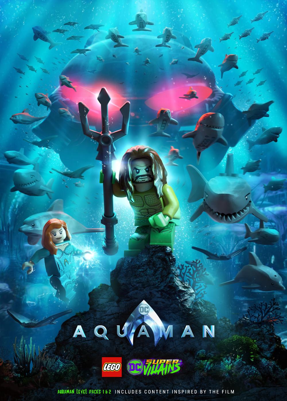 LEGO Aquaman Poster