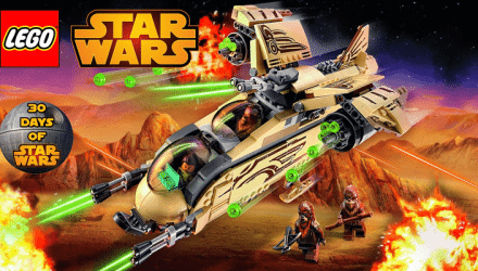 LEGOStarWars WookieeGunship