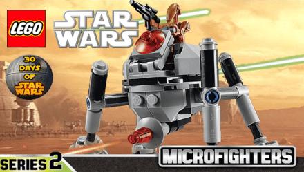 LEGOStarWars HomingSpiderDroid