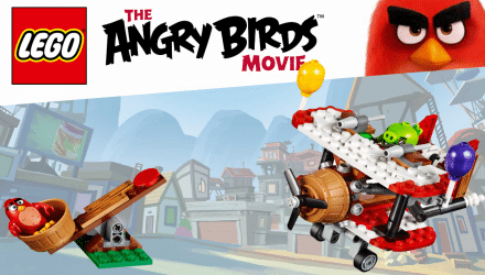 LEGOAngryBirds Plane