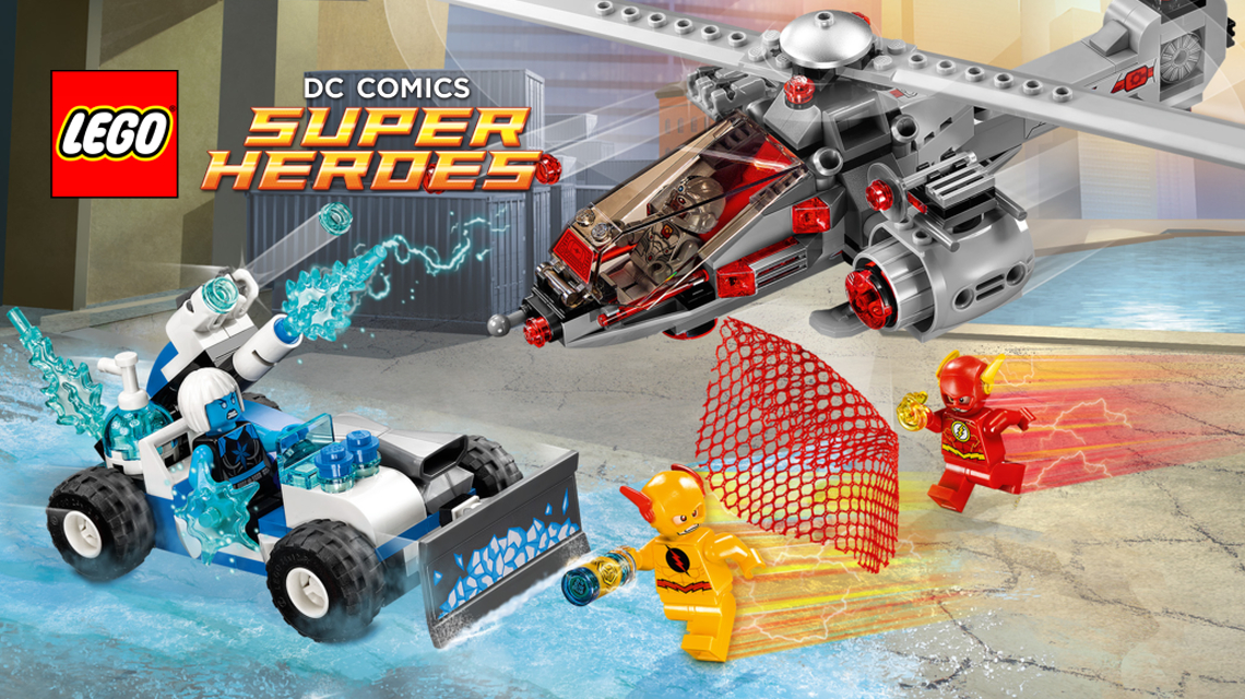 Lego DC Super Heroes 76098 Speed Force Freeze Pursuit Flash Minifigure