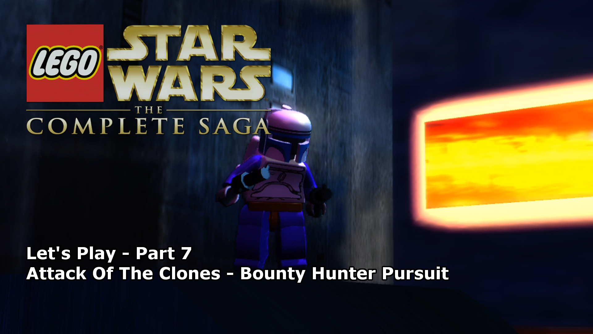 Let's Play | LEGO Star Wars: The Complete Saga 7 - Bounty Hunter Pursuit