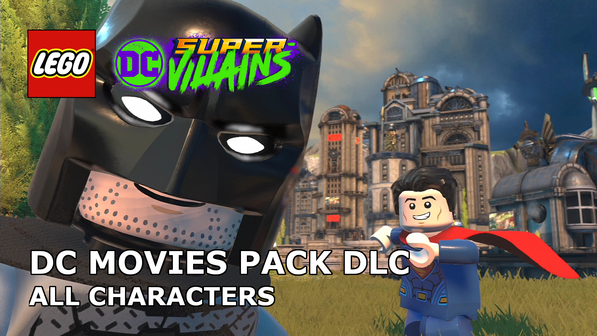 Let S Play Lego Dc Super Villains Dc Movies Character Pack Dlc
