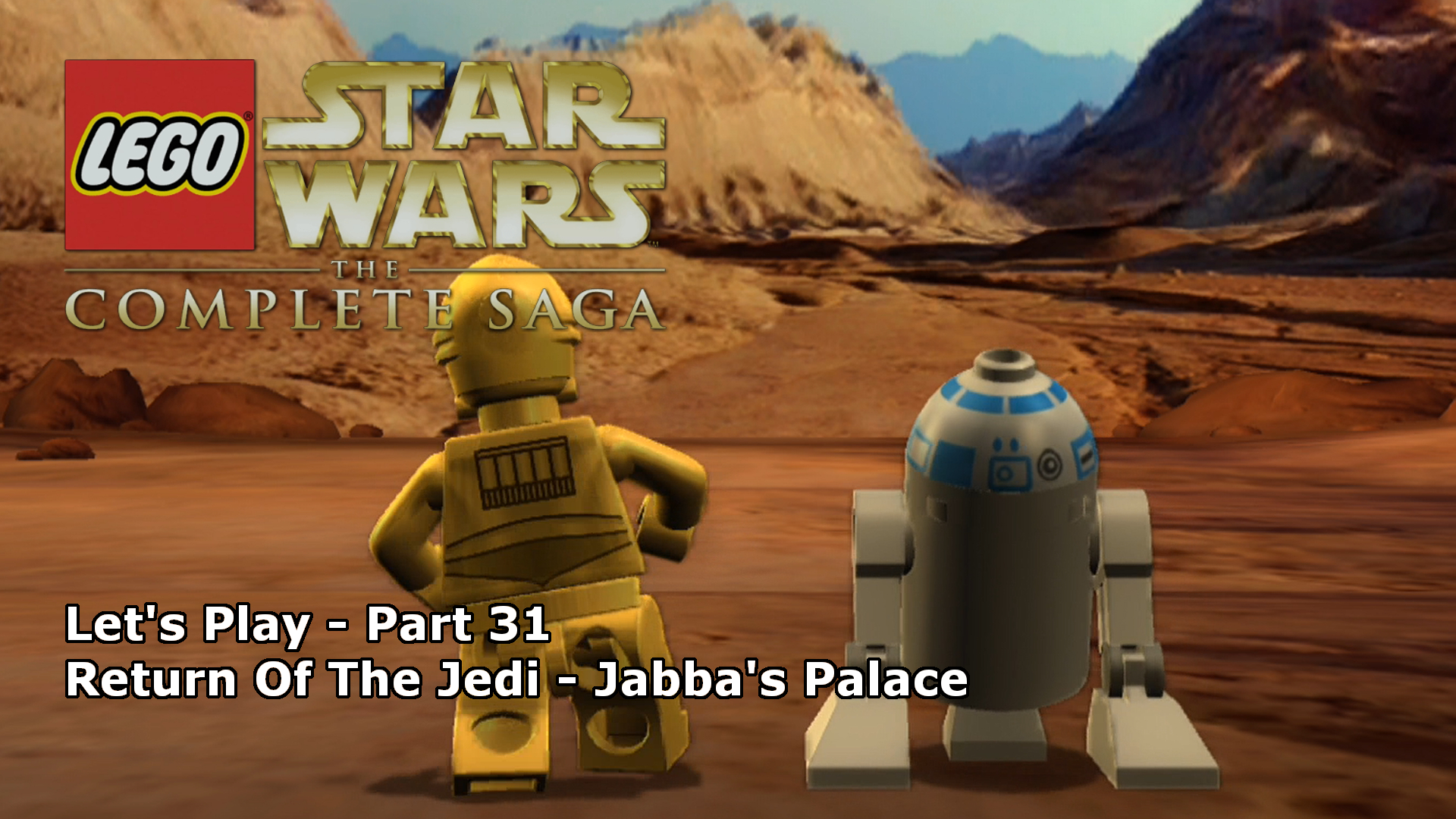 Lets Play Lego Star Wars The Complete Saga 31 Jabbas Palace