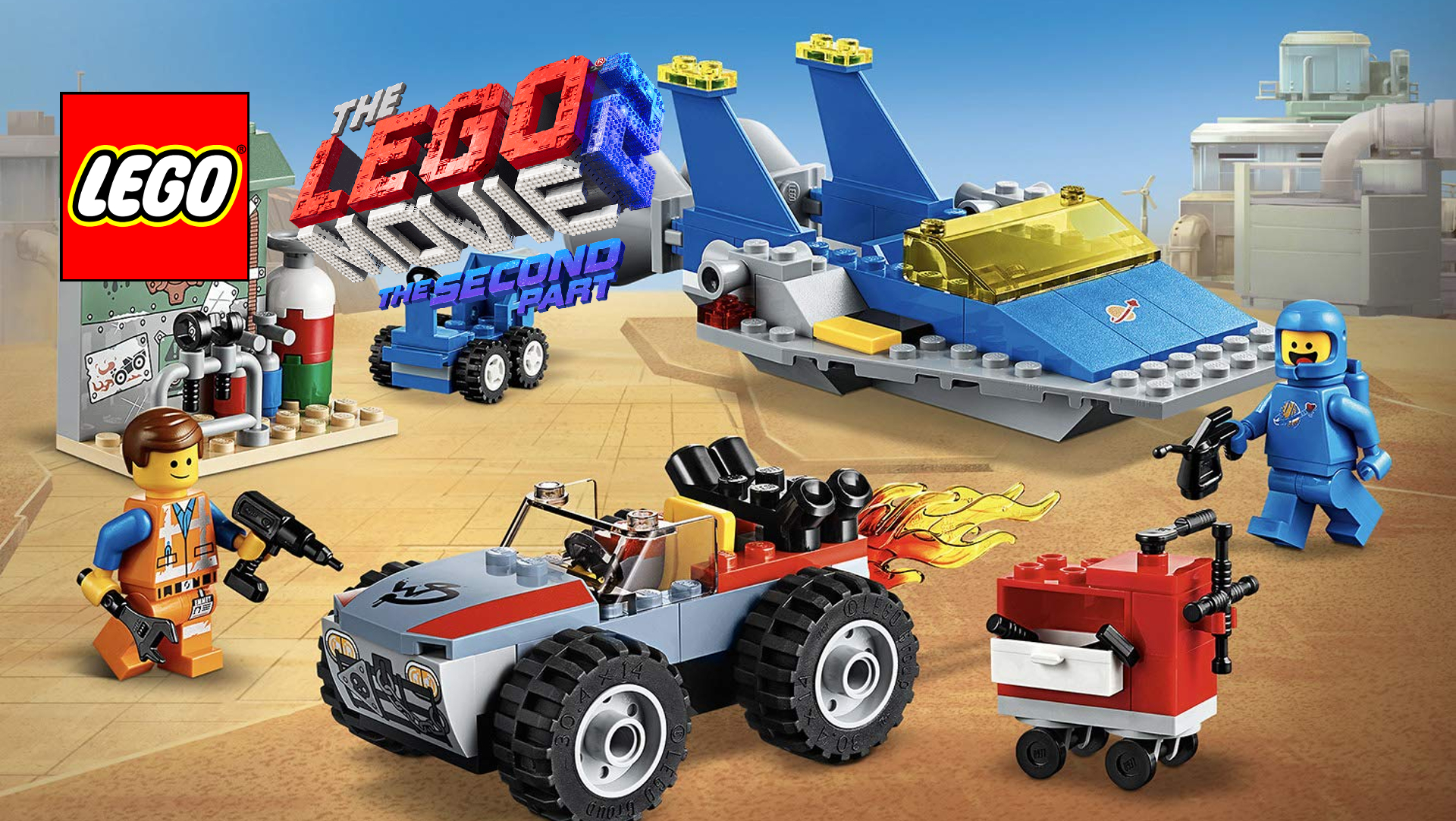 Review The Lego Movie 2 Emmet And Bennys Build And Fix