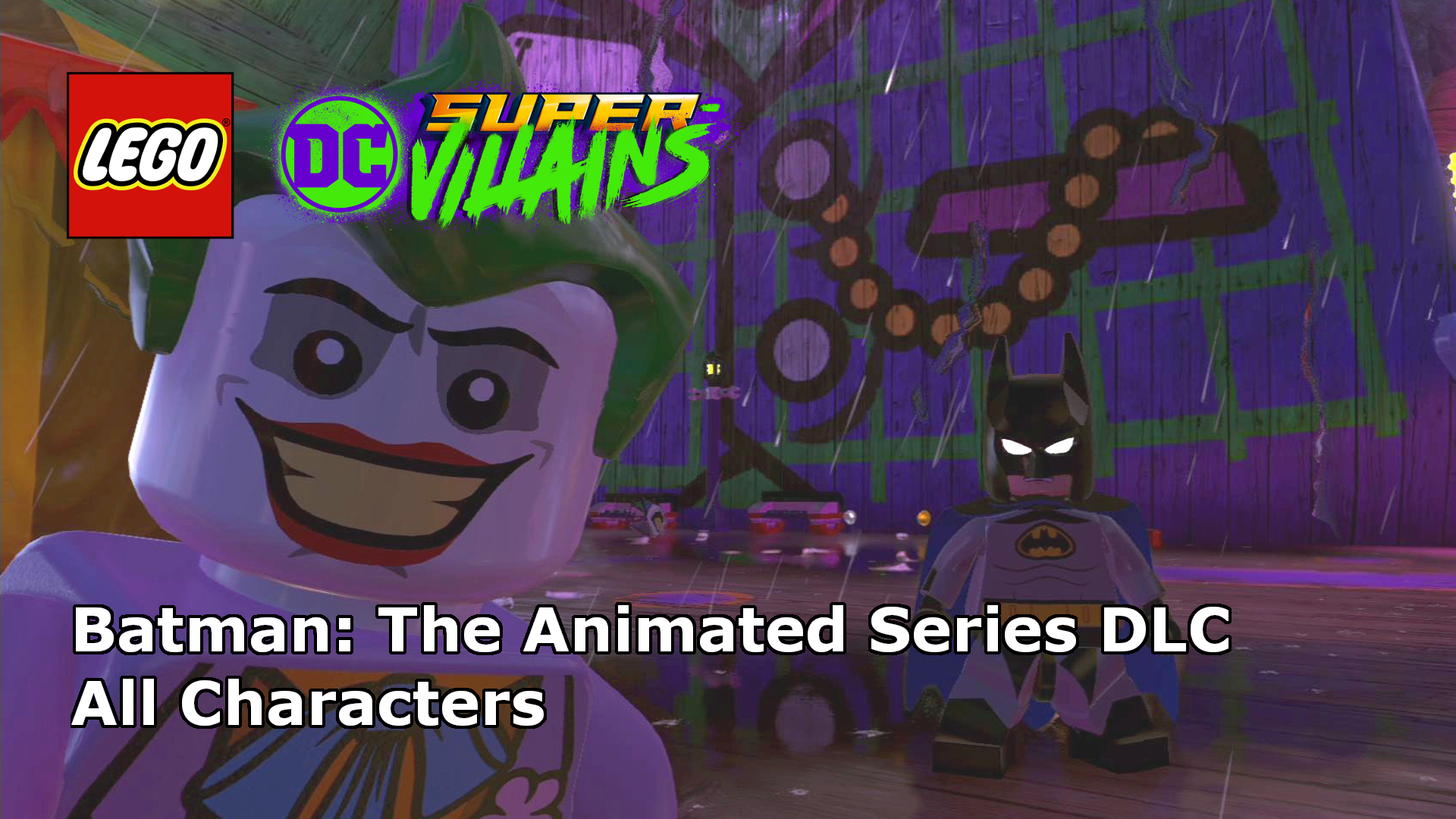 Let S Play Lego Dc Super Villains Batman The Animated Series Dlc Characters
