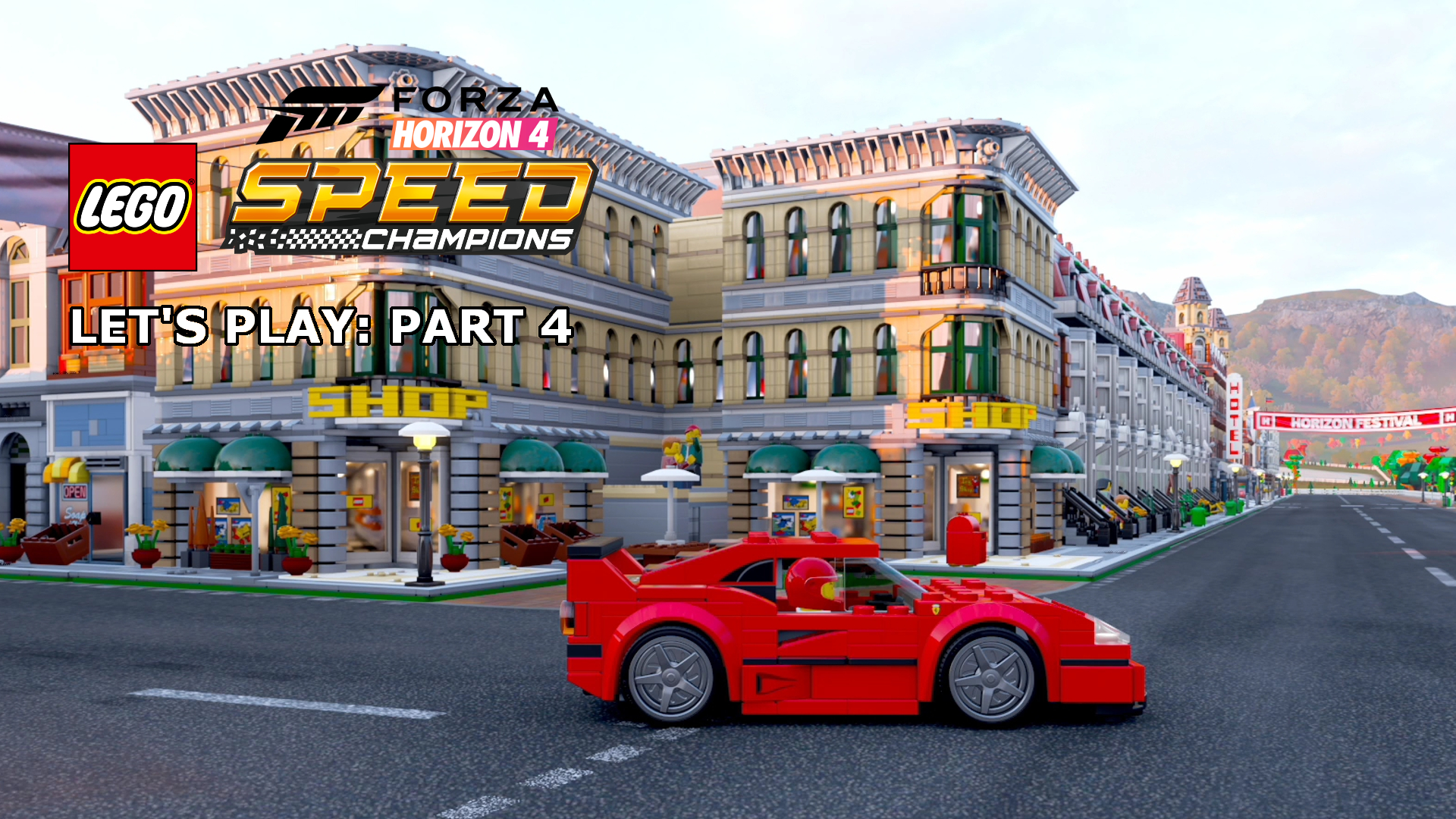 Let's Play | Forza Horizon 4: LEGO Speed Champions DLC 4 - Buggies