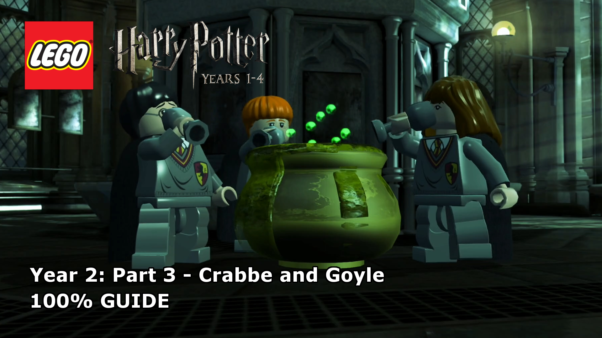 Lego Harry Potter Years 1 4 Crabbe And Goyle 100 Guide