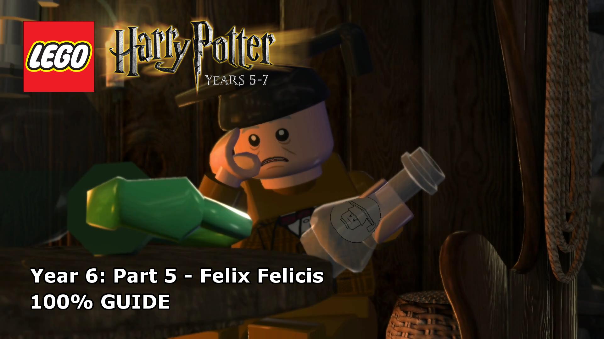 Lego Harry Potter Years 5 7 Felix Felicis 100 Guide