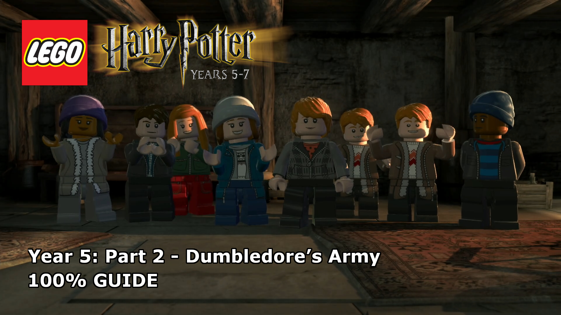 Lego Harry Potter Years 5 7 Dumbledore S Army 100 Guide