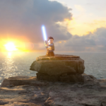 Rey on Rocks